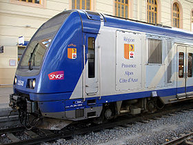 Image illustrative de l'article Transport express régional