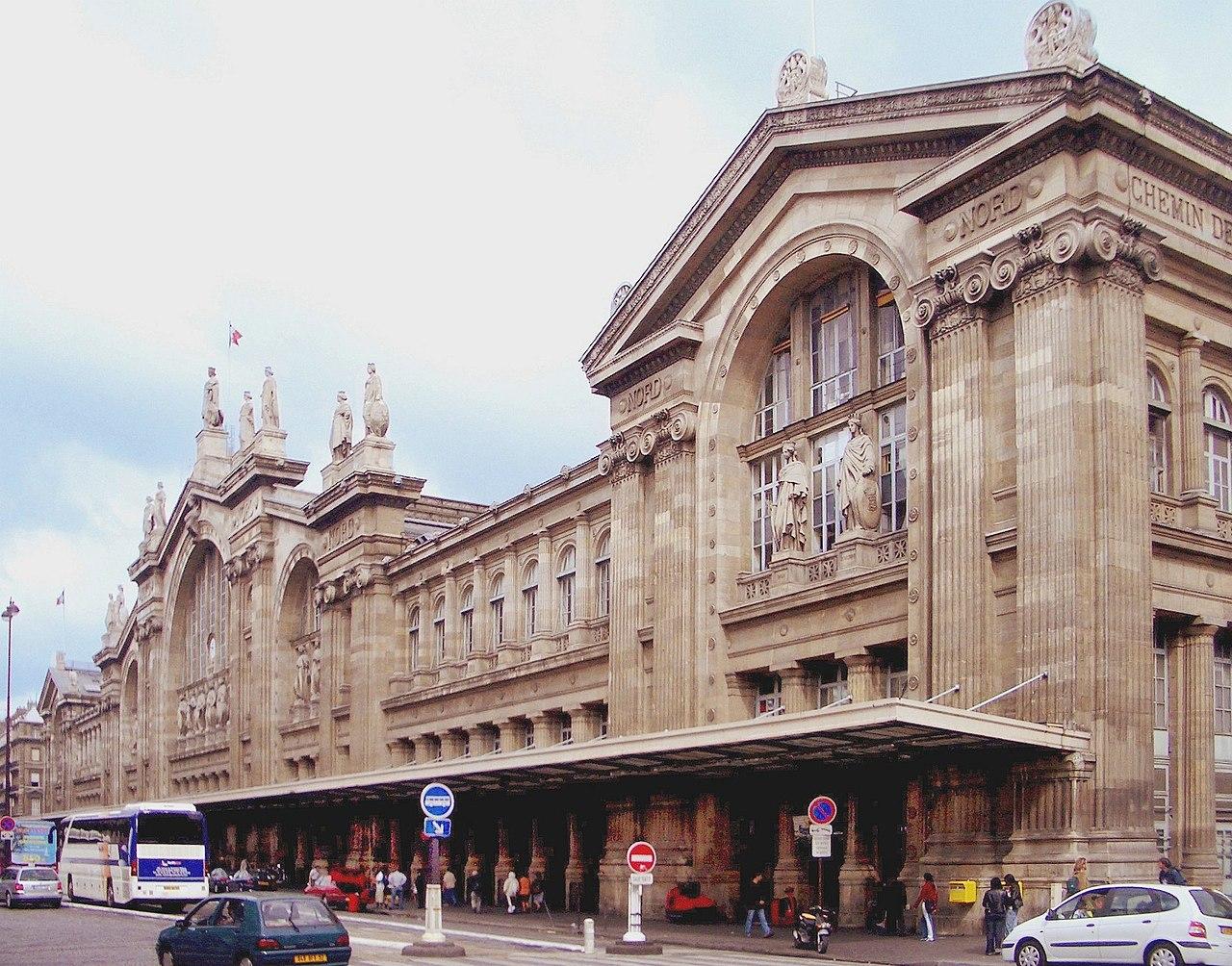 File gare du nord wikipedia for Gare du nord paris