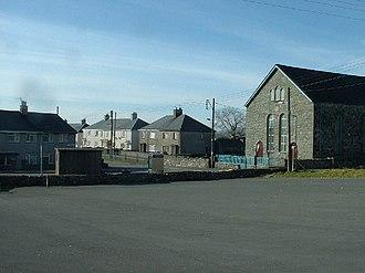 Garndolbenmaen - Image: Garndolbenmaen village centre geograph.org.uk 119783