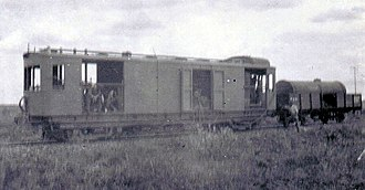 South African gas-electric locomotive - Image: Gas electric locomotive c