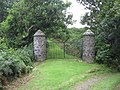 Gate Posts in woods - geograph.org.uk - 932184.jpg