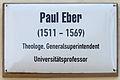 Gedenktafel Kirchplatz 9 (Wittenberg) Paul Eber.jpg