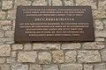 Gedenktafel für Dreiländertreffen 1948 auf Burg Hohenneuffen (Aufnahme 2009).jpg