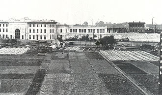 Heiligenstadt, Vienna - A view of the railway station in Heiligenstadt from the Karl-Marx-Hof