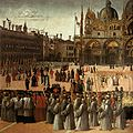 Gentile bellini, processione in piazza san marco 02.jpg