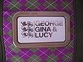 George Gina & Lucy Logo mit den drei Löwen (am Modell Domador).jpg