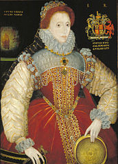 Plimpton Sieve Portrait of Queen Elizabeth I