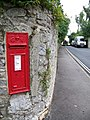 George V postbox, Chudleigh - geograph.org.uk - 930785.jpg