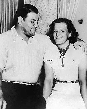 Babe Didrikson Zaharias - George and Babe Zaharias in 1938
