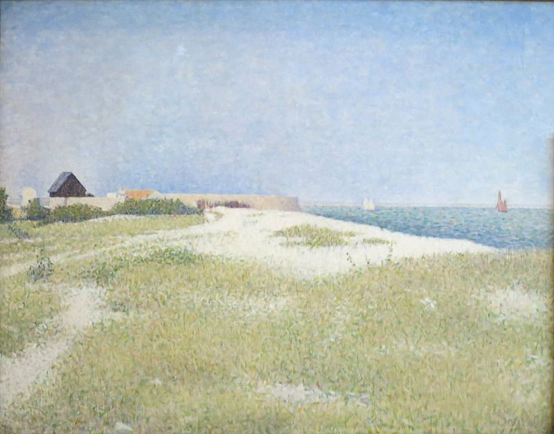 https://upload.wikimedia.org/wikipedia/commons/thumb/5/5d/Georges_Seurat_-_View_of_Fort_Samson.jpg/800px-Georges_Seurat_-_View_of_Fort_Samson.jpg