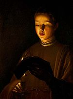 Georges de La Tour Le Jeune chanteur New Walk Museum and Art Gallery.jpg