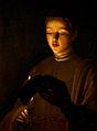 Georges de La Tour Le Jeune chanteur New Walk Museum and Art Gallery.jpg