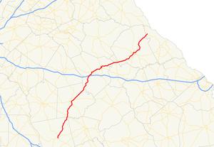 Georgia State Route 44 - Image: Georgia state route 44 map