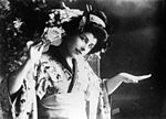 Geraldine Farrar as Madama Butterfly