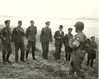 Mohammedia - German officers captured at Fedala, 1943