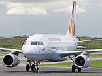 Germanwings Airbus A319-132 (D-AGWH) at Manchester Airport.jpg