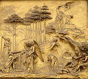 Sophistication rituelle: substitution homme-animal lors du sacrifice d'Isaac par Abraham.