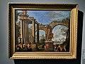 Ghisolfi Giovanni (Nachf.) — Ruinencapriccio mit dem Standbild des Marc Aurel (Stift Klosterneuburg).jpg