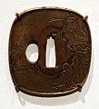 Giappone, periodo edo, tsuba (coprimano da elsa di spada), xviii e xix secolo, 09 samurai.jpg