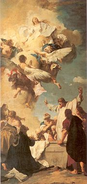 The Assumption of Mary into Heaven by GB Piazzetta