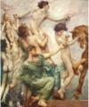 Giulio Aristide Sartorio, Frieze for Montecitorio, Rome, (detail), 1912.png