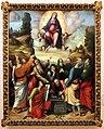 Giulio e giacomo francia, assunzione della vergine, 1513, 01.jpg