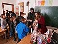 Gjilani. Nxënësit e shkollës rome.jpg