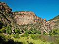 Glenwood Canyon, Colorado River 8-07 (24438360680).jpg