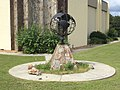 Globe sculpture, Ashburn.JPG