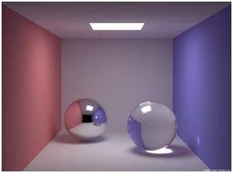 Gloss (optics) - Gloss reflection