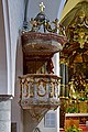 Gmunden - Pfarrkirche Jungfrau Maria und Erscheinung des Herrn - Kanzel - 1686.jpg
