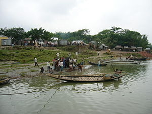 Goalundo Ghat - Skyline of Goalandaghat, Bangladesh