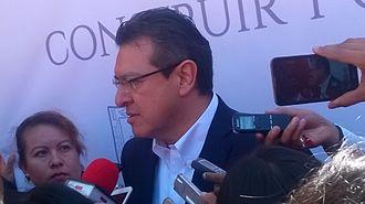 Governor of Tlaxcala - Image: Gobernador Marco Mena de Tlaxcala