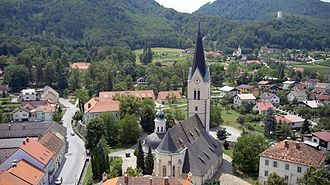 Slovenske Konjice - Saint George's Church