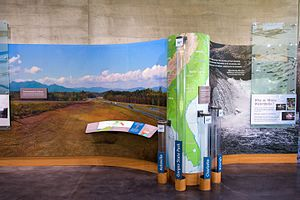 Gorges State Park - Rainfall and sciences at the park