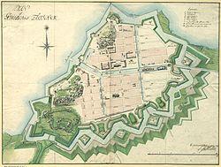 ka4 göteborg karta Göteborgs fasta försvar – Wikipedia ka4 göteborg karta