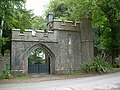 Gothic Gate Lodge to Annesgrove Gardens. - geograph.org.uk - 238391.jpg