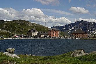 Gotthard Pass - Gotthard's Hospice and Museum