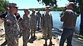 Governor Dennis Daugaard is briefed by Generals on flood preparations.jpg