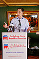 Governor of Wisconsin Scott Walker at Belknap County Republican LINCOLN DAY FIRST-IN-THE-NATION PRESIDENTIAL SUNSET DINNER CRUISE, Weirs Beach, New Hampshire May 2015 by Michael Vadon 05.jpg