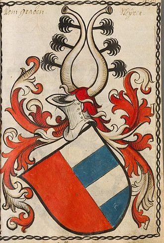House of Gorizia - Coat of arms Graben von Stein