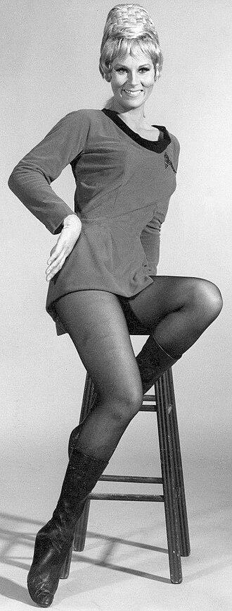 Janice Rand - A promotional photo of Grace Lee Whitney as Janice Rand