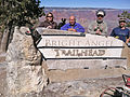Grand Canyon National Park, Bright Angel Trailhead Sign Crew - Flickr - Grand Canyon NPS.jpg