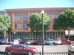 Grand Forks Mercantile Building 1898 - Grand Forks Mercantile Building in 2009