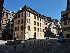 photographie de la Grande Rue de Belfort