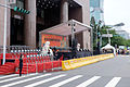 Grandstand in Front of Taipei City Hall before Event Opening 20151101.jpg