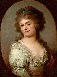 Portrait of Maria Cecylia Duchesne née Merlini.