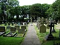 Graveyard of St Anne's RC Church, Westby Mills - geograph.org.uk - 466376.jpg