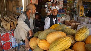 Aqcha Town in Jowzjan Province, Afghanistan