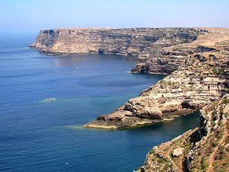 Lampedusa - Northeastern cliffs of Lampedusa